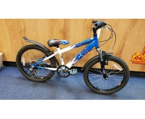 "Second hand Raleigh Hot Rod 20"" with 11"" frame for age 6-9 years old Kids Mountain Bike"