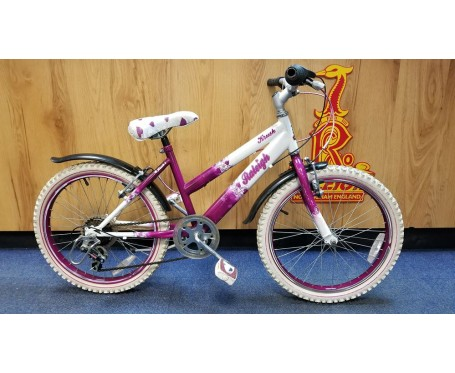 """Second hand Raleigh Krush 20"""" with 11"""" frame for age 6-9 years old Kids Mountain Bike"""