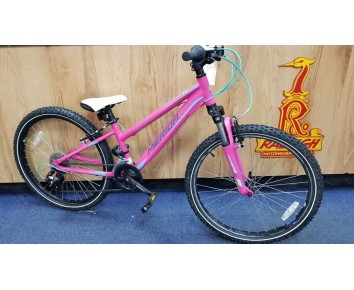 """SOLD SOLD SOLD Second hand 24"""" Merida Matts 12"""" frame for age 7-9 years old Kids Mountain Bike"""