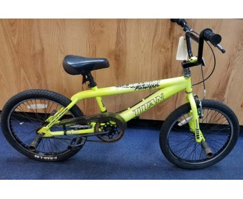 """Second hand Titan Freestyle 20"""" Kids BMX Bike yellow for age 6-12 approx"""