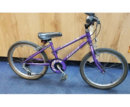 "Second hand Raleigh Palmino 20"" with 11"" frame for age 6-9 years old Kids Mountain Bike"