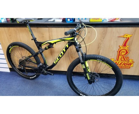 SOLD SOLD SOLD Ex Demo Scott Spark 760 Large 27.5 Full Suspension Mountain Bike (Sold with manufacturer warranty)