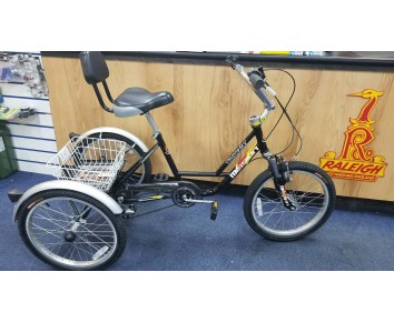 "Second hand Mission MX 20 trike 20"" wheel special needs trike"