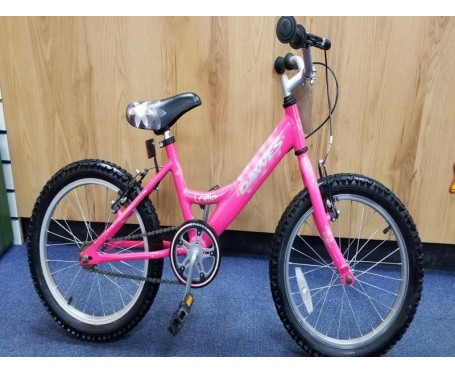 "Second hand 18"" Dawes Lottie Girls Bike Suitable for 5 1/2 - 7 1/2 years old"