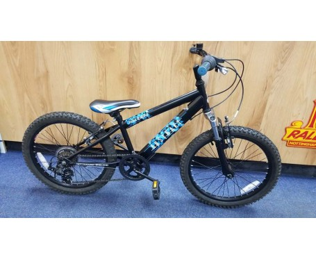 "Second hand Raleigh Abstrakt 20"" with 11"" frame for age 6-9 years old Kids Mountain Bike"