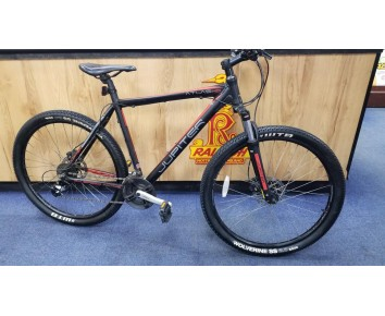 "SOLD SOLD SOLD 27.5"" wheel 21"" frame second hand Atlus HD Jupiter Mountain bike 24 speed gears"