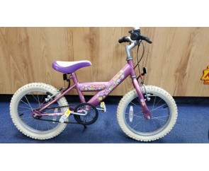 """Second hand 16"""" Triumph Bella Girls Bike Suitable for 4 1/2 - 6 1/2 years old"""