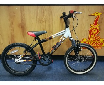 "Second hand Raleigh Hot Rod 18"" Kids Mountain Bike"