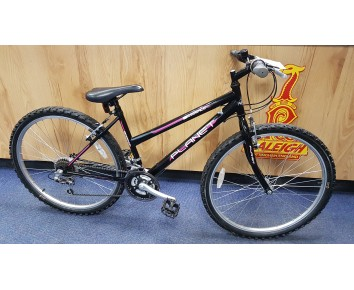 "SOLD Second hand Planet Essence 26"" Ladies mountain bike with 16"" Frame size to suit 10+ years old SOLD"