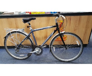 "SOLD Second hand Giant GSR Trekking Hybrid 19"" Frame medium/large SOLD"