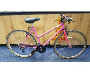 Second hand Hybrid bike MBK Colorado Trekking bike Pink