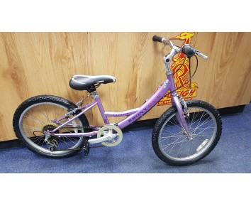 "SOLD Second hand Bronx Caprice Rigid 20"" wheel mountain girls Bike.SOLD"