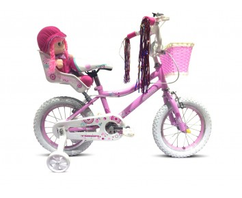 "16"" Charlotte Girls Bike Suitable for 4 1/2 to 6 years old"