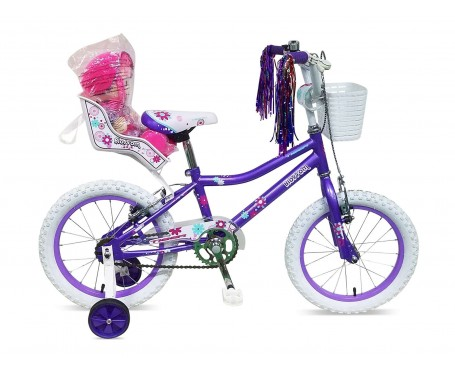 "12"" Blossom Girls Bike Suitable for 2 1/2 to 4 years old"