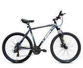 "Tiger Ace V2 Mountain Bike 27.5"" Wheels Disc Brakes Boy/Adult Mountain bike Black/Blue"