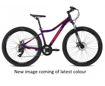 Tiger Ace v2 27.5 V2 Ladies mountain bike purple for ages 11 plus