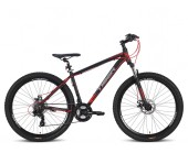 "Tiger Ace V2 Mountain Bike 27.5"" Wheels Disc Brakes Boy/Adult Mountain bike Black/Red"