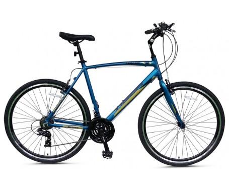 "Tiger Explorer Hybrid Bike Alloy Frame 21 speed Gears 18"" Frame"