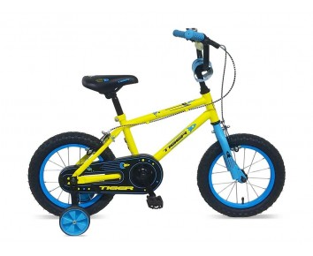 "14"" Frontier Boys Bike Yellow Suitable for 2 1/2 to 4 years old"