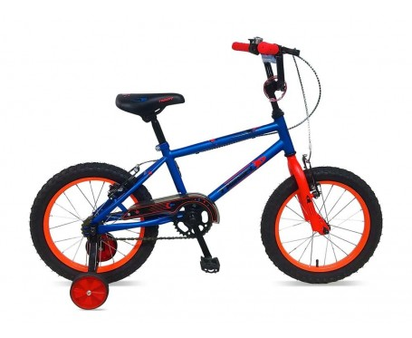 "12"" Frontier Boys Bike blue Suitable for 2 1/2 to 4 years old"