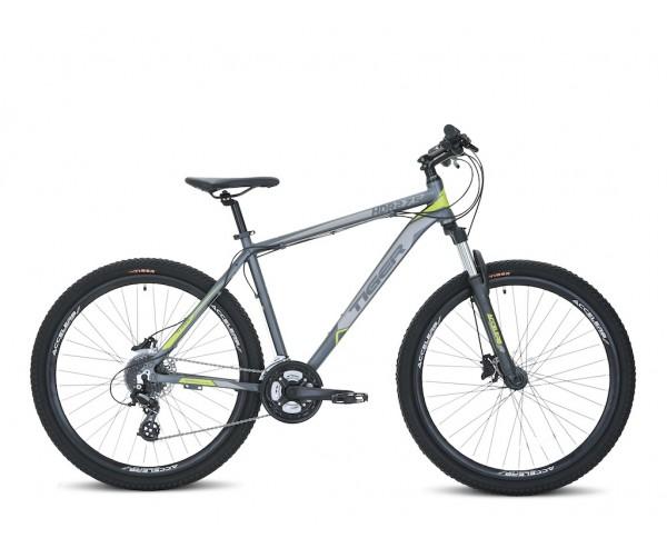 "Tiger Ace V2 Mountain Bike 27.5"" Wheels Boy/Adult Mountain bike Black/Green"