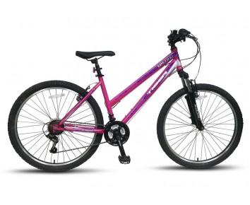 "Tiger Mistral Ladies Magenta/Purple/White girls Mountain Bike ages 9 years plus 26"" Wheel"