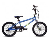 "18"" UC X-UP Boys BMX bike blue/yellow"