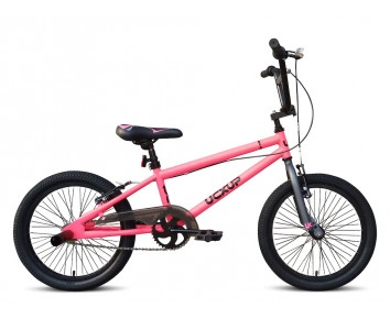 "18"" UC X-UP Girls BMX Pink for 5 to 8 years old"