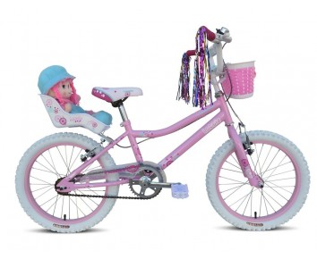 "18"" Lottie Girls Bike Suitable for 5 to 8 years old"