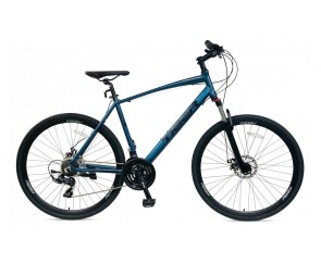 Tiger Helix hybrid bike Front suspension and mechanic disc brakes