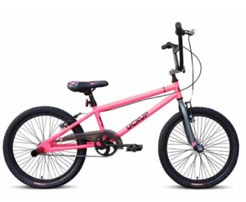 "UC X-UP 20"" Boys BMX Pink and Grey"