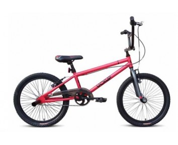 "UC X-UP 20"" BMX Red and Matte Grey"