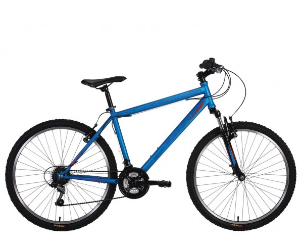 Tiger Fury Hardtail mountain bike 18 speed system for ages 9+ to Adult