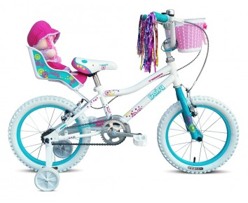 "16"" Daisy Girls Bike Suitable for 4 1/2 to 6 years old"