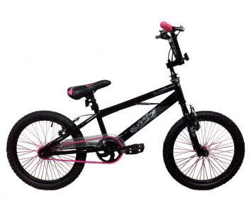 """18"""" Urban Girls BMX Pink for 5 to 8 years old"""