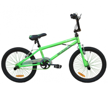 """18"""" Urban BMX Green for 5 to 8 years old"""