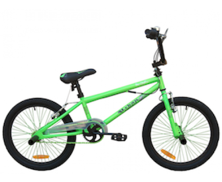 "18"" Urban BMX Green for 5 to 7 years old"