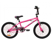 """18"""" Urban BMX Pink for 5 to 7 years old"""