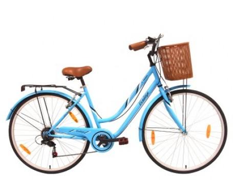 Tiger Vintage Alloy Blue Ladies Hybrid Bike