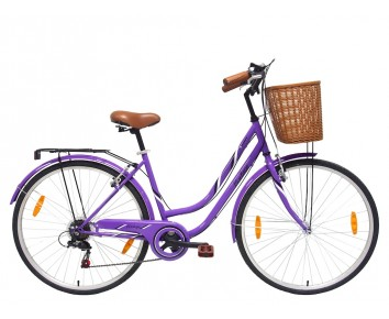 Tiger Vintage Alloy Ladies Hybrid Bike