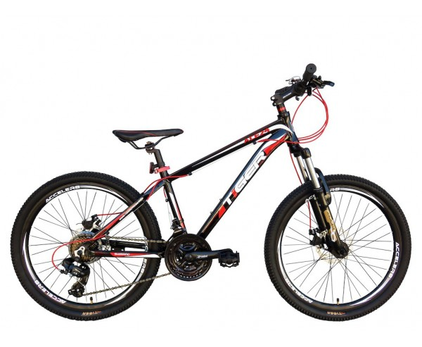 """24"""" Tiger Ace Boys Mountain Bike 13"""" Frame suitable for 8-12 years old"""