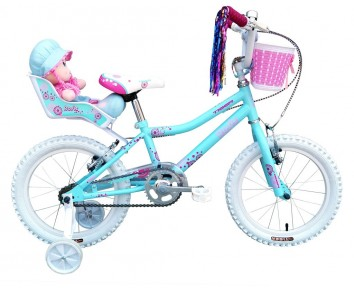 "14"" Rosie Girls Bike Suitable for 3 to 4 1/2 years old"