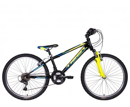 "24"" Tiger Warrior Hardtail wheels 12"" frame Boys 18 speed mountain Bike for ages 7 to 11 years old"