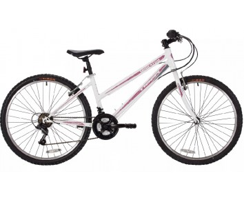 Tiger Momentum Ladies White/Purple Mountain Bike ages 9 years plus