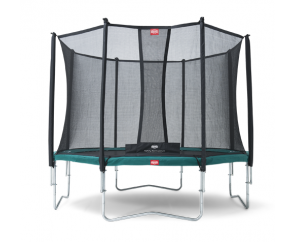 BERG Favorit 330 + Safety Net Deluxe 330 330cm/11ft Trampoline