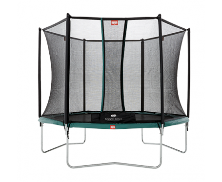 BERG Talent + Safety Net Comfort  300cm - 10 feet trampoline