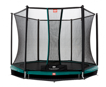 BERG Talent InGround + Safety Net Comfort 300cm - 10 feet trampoline