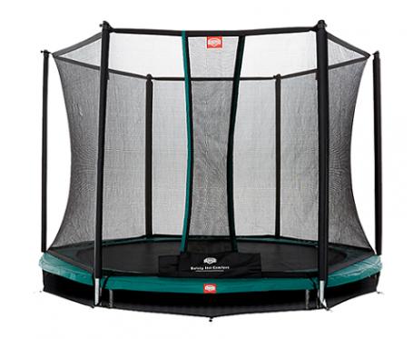 BERG Talent InGround + Safety Net Comfort 300cm - 10 feet trampoline