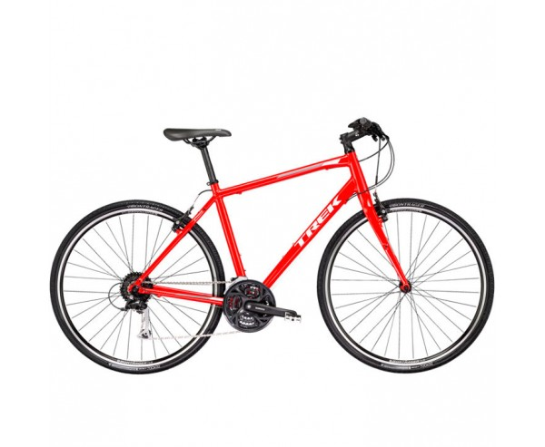 "Trek FX 3 2018 Hybrid Bike Red 20"" Large frame only"