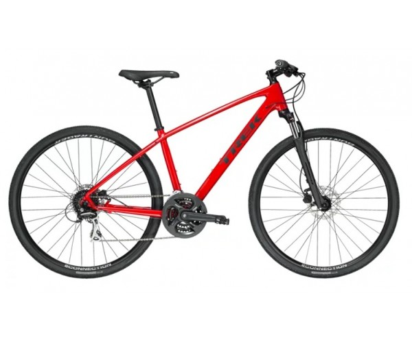 Trek Dual Sport DS 2 2020 Front Suspension hybrid Viper red or Gloss Black
